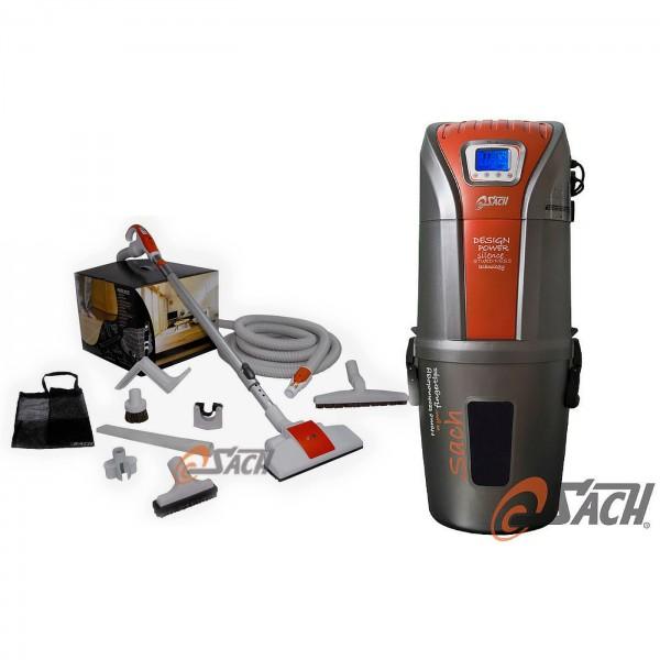 Zentralstaubsauger VAC Digital 2.4 + Schlauch-Set 10M PLUS